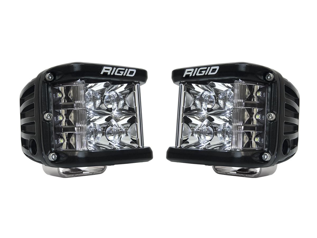 Rigid Industries D-SS Side Shooter PRO LED Lights - Spot - Pair