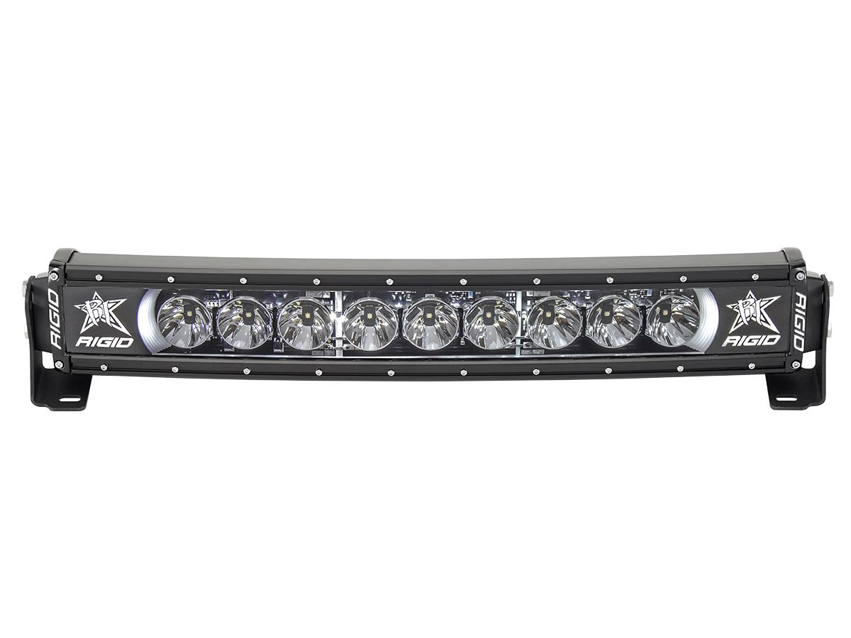 Rigid industries radiance curved 20 back light led light bar home lighting radius lightbars rigid industries radiance curved rigid industries radiance curved 20 back light led light bar aloadofball Image collections