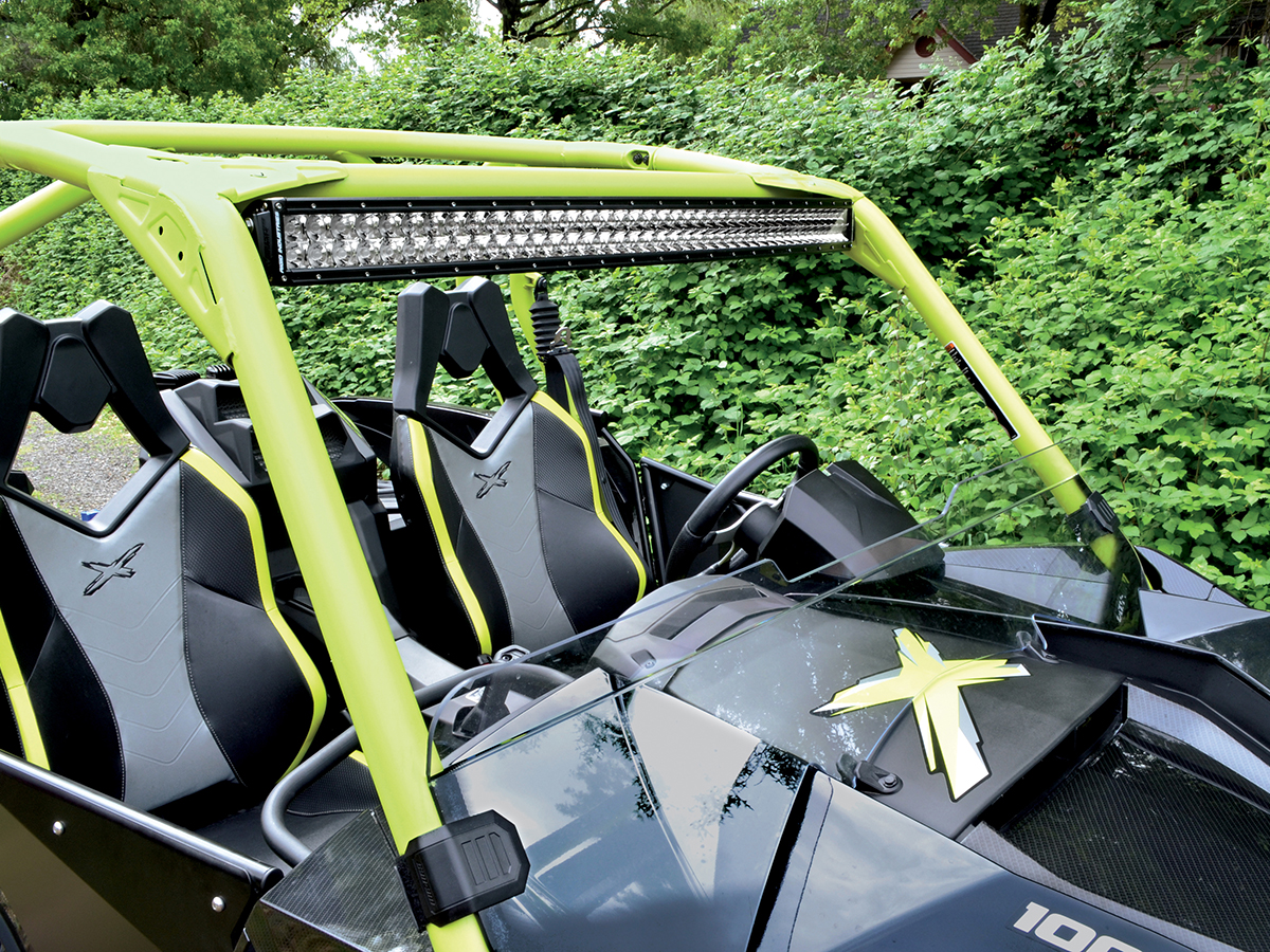 Rigid industries 2014 2016 can am maverick x ds 40 rds roof mount aloadofball Image collections