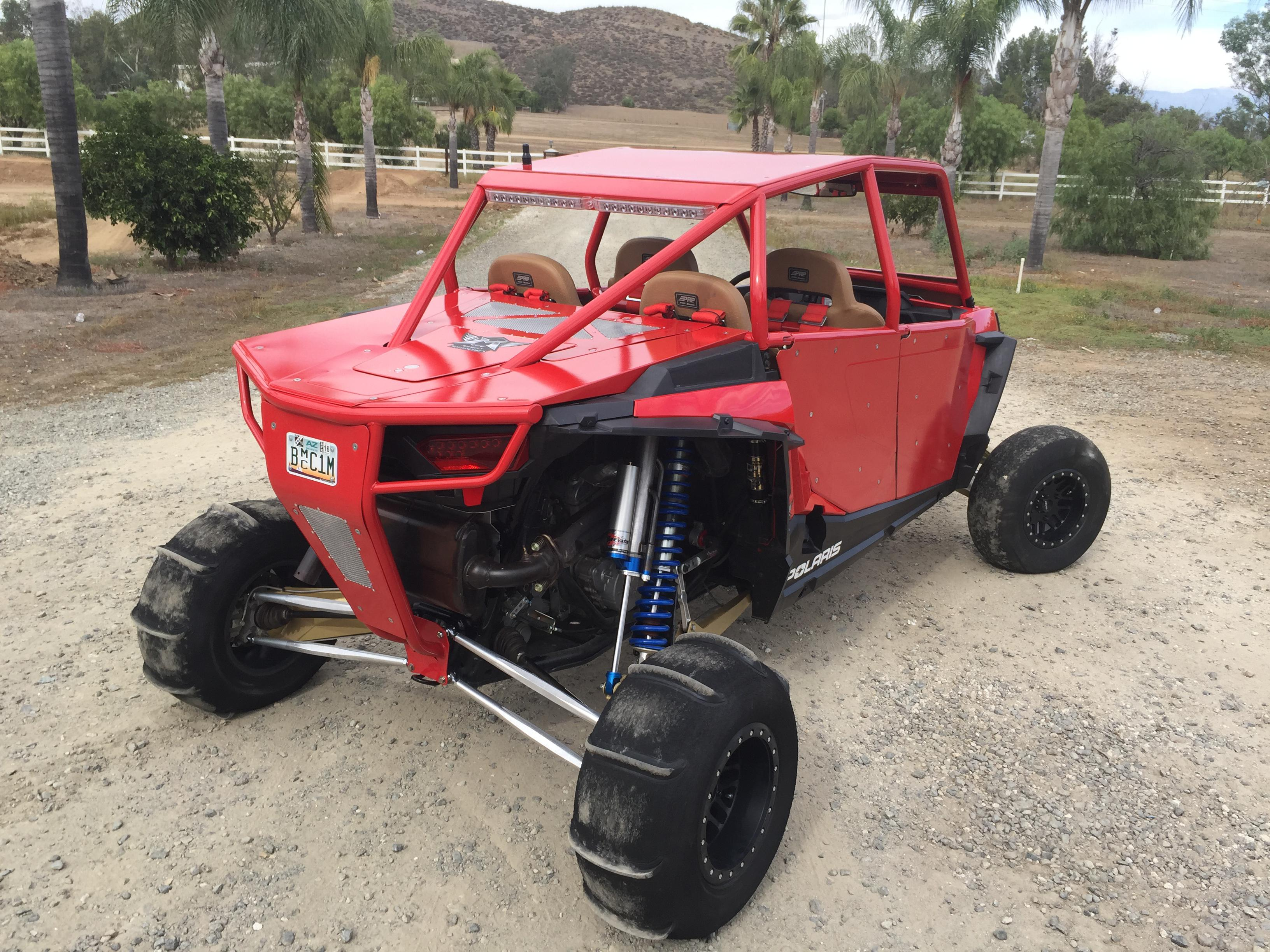 Cagewrx Rzr Xp4 1000 Roll Cages 4 Seater Utv Roll Cages ...