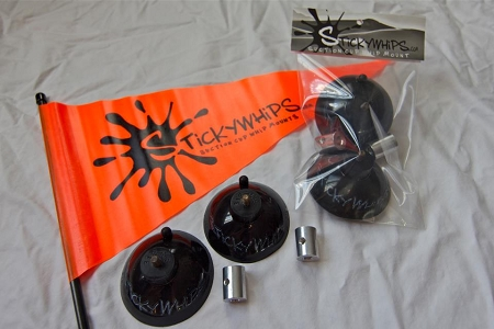 Stickywhips Suction Cup Whip Mount