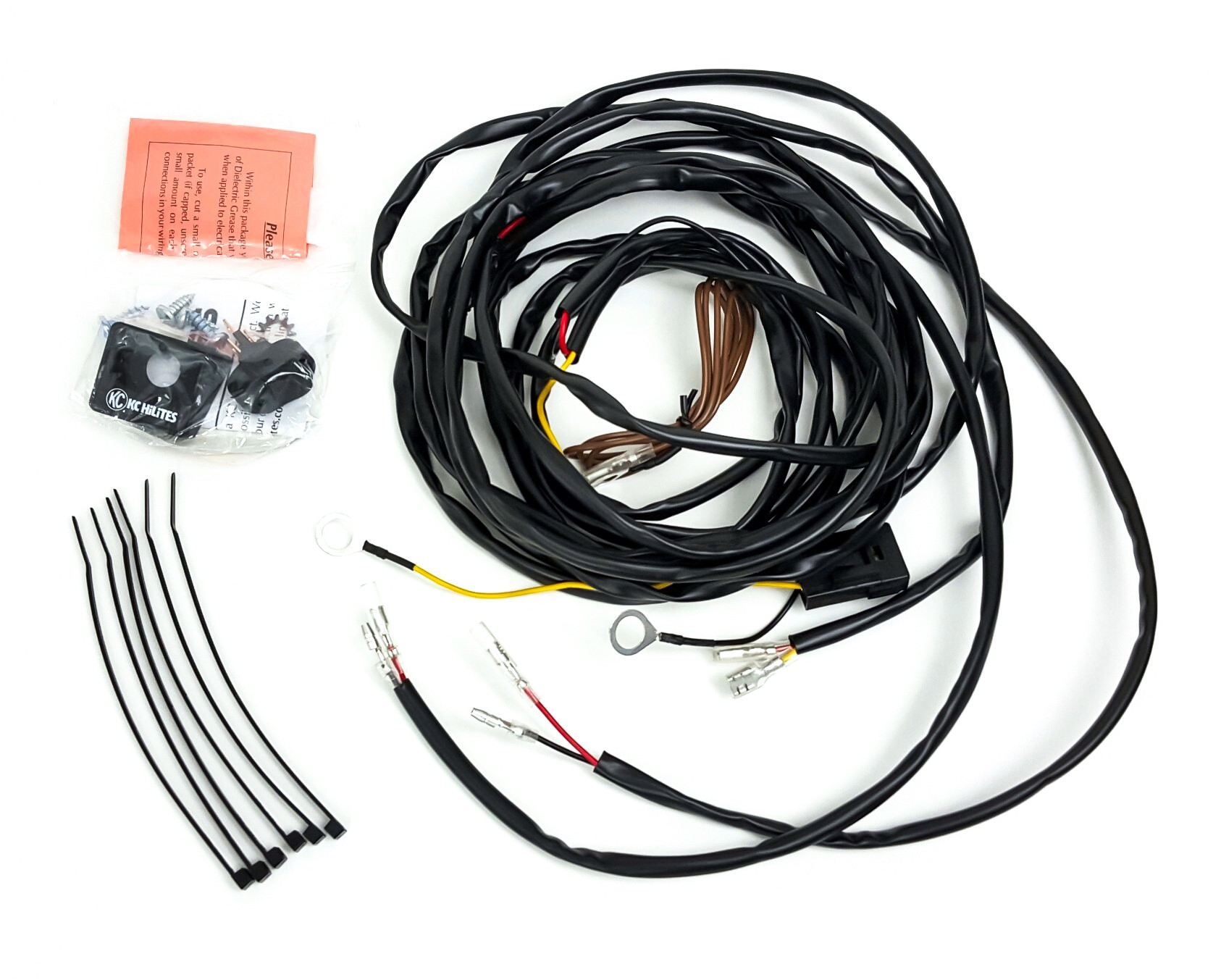 kc light wiring harness kc light wiring diagram kc hilites universal wiring harness for 2 cyclone led lights