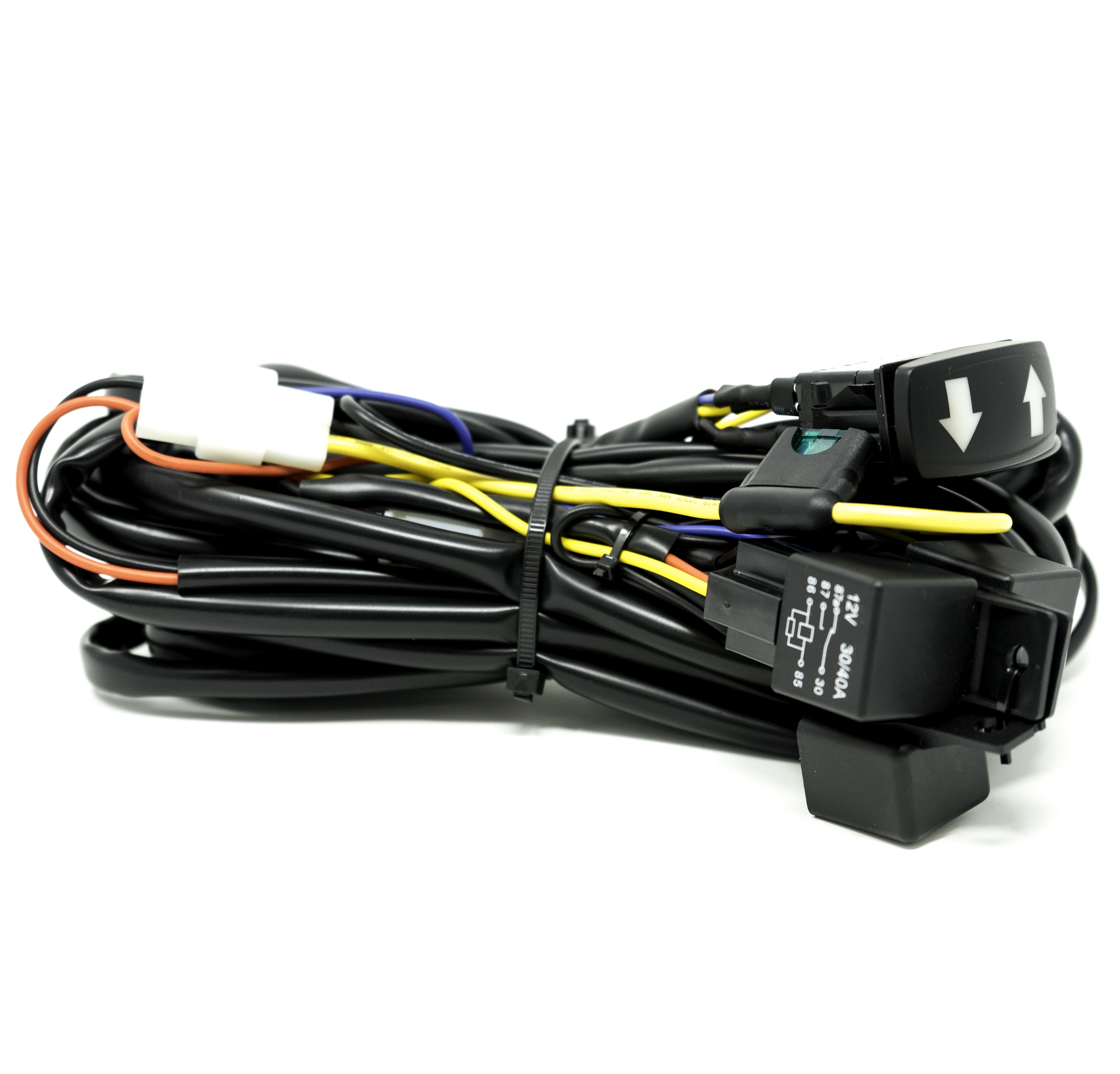 baja designs rtl s turn signal wiring harness for utvs. Black Bedroom Furniture Sets. Home Design Ideas