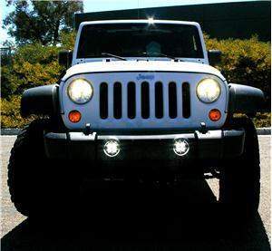 & Baja Designs Jeep JK Squadron LED Fog Light Kit