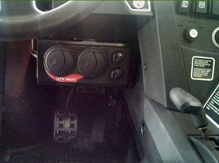 Firestorm Compact Cab Heater For Canam Commander
