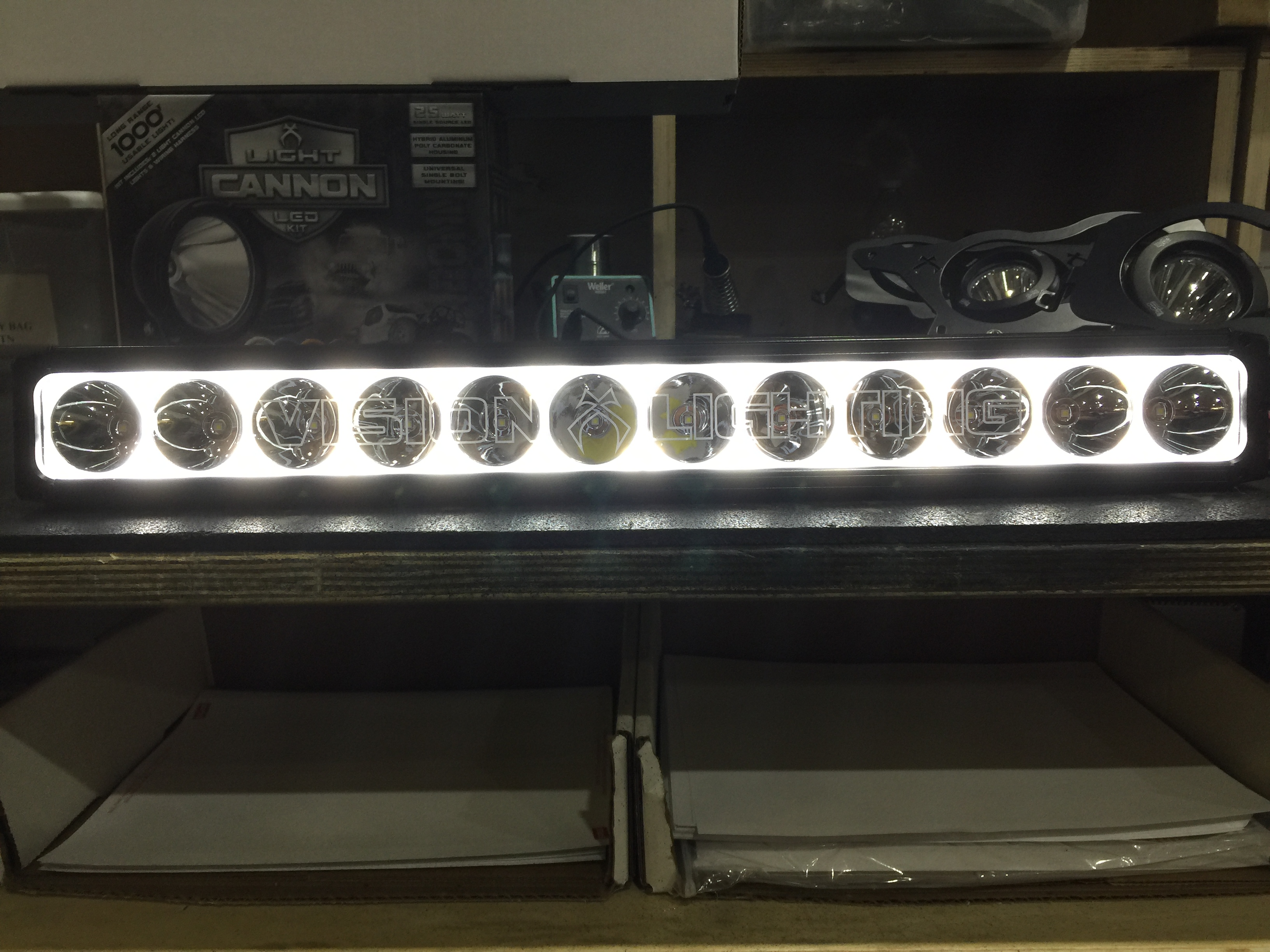 Visionx 51 xpr s halo 10w led light bar mozeypictures Image collections