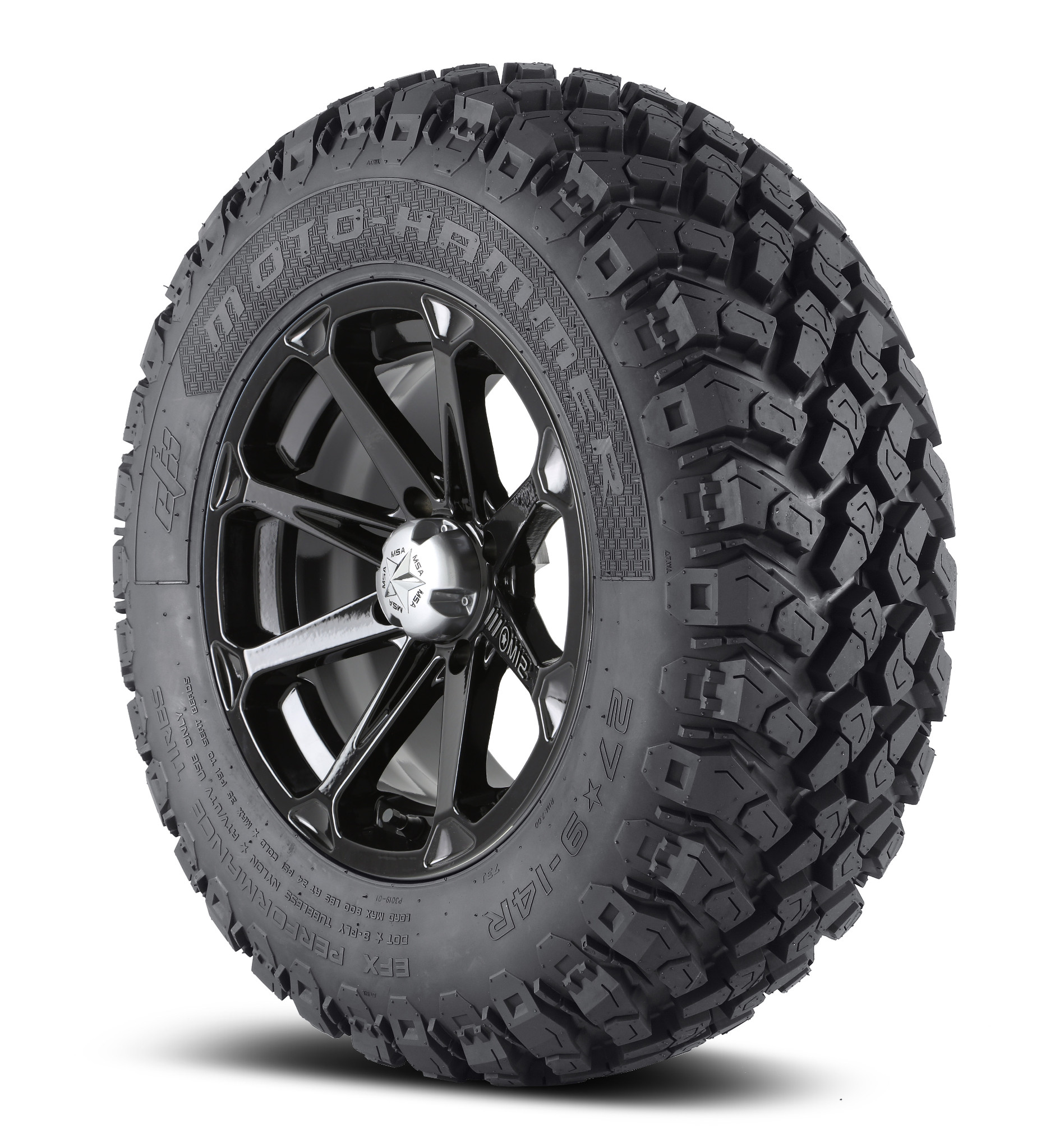 Msa 14x7 M12 Diesel Wheel And Efx 28 Quot Moto Hammer Tire