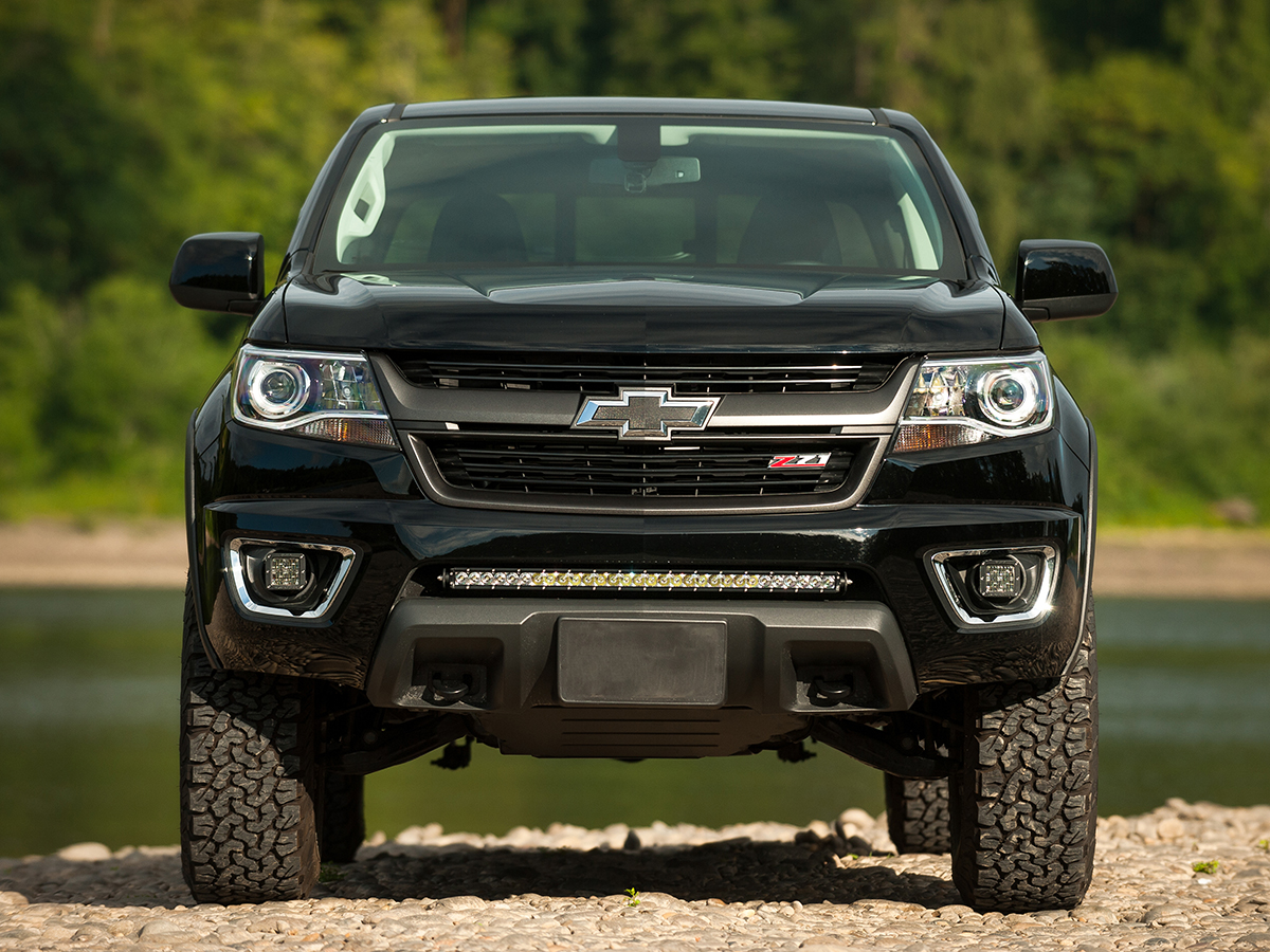 rigid industries 2015 2016 chevy colorado bumper mount. Black Bedroom Furniture Sets. Home Design Ideas