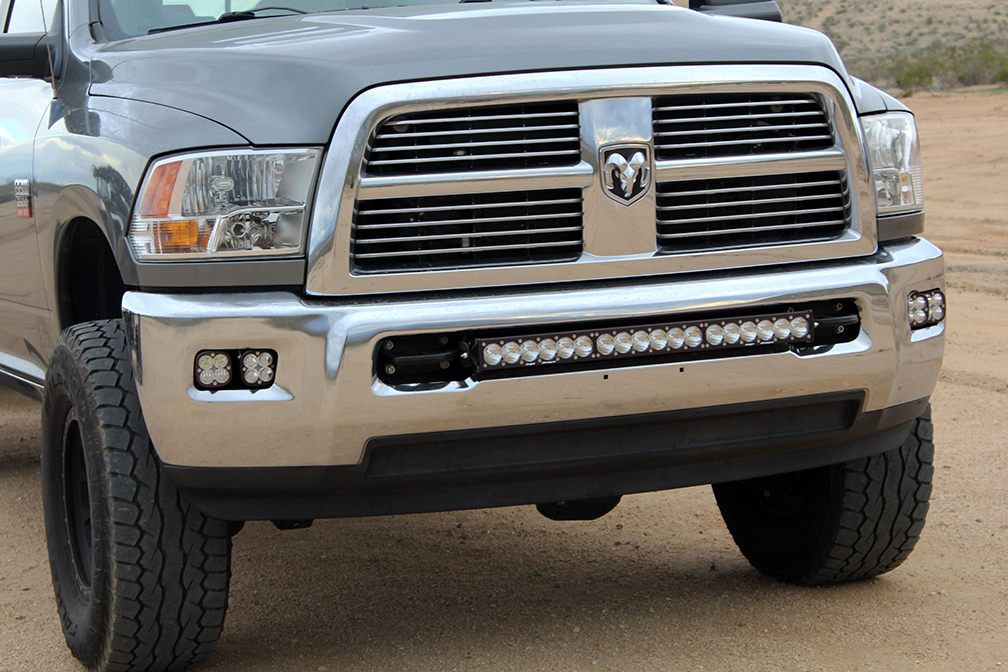 Baja designs dodge ram 25003500 2003 2016 30 lightbar mount aloadofball