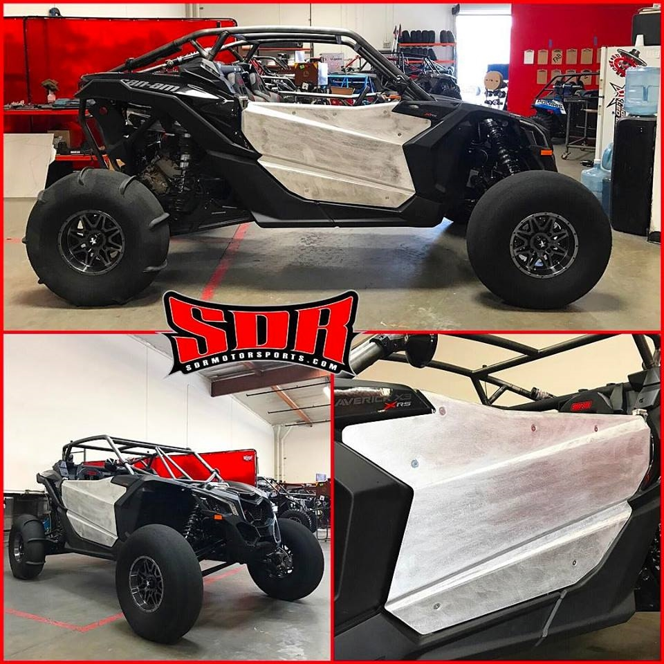 & SDR Motorsports Can-Am Maverick X3 2 Seat Bolt On Doors