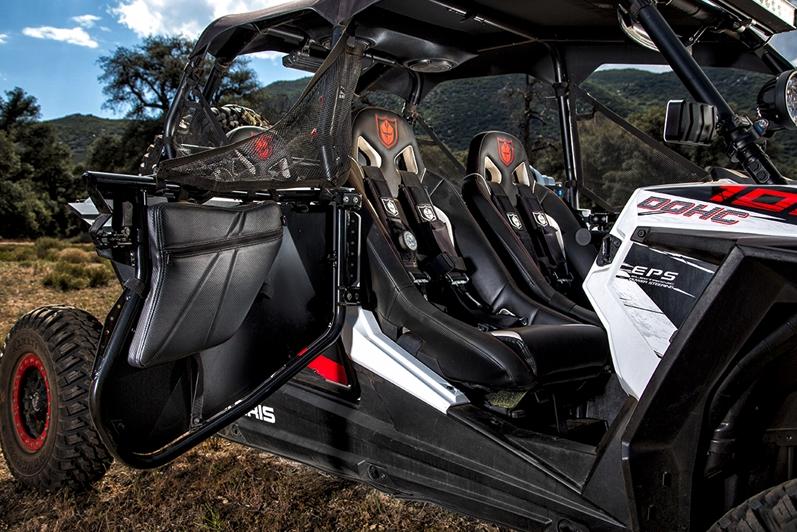 Pro Armorpolaris Rzr Xp4 1000 Front Door Bags Knee Pads W