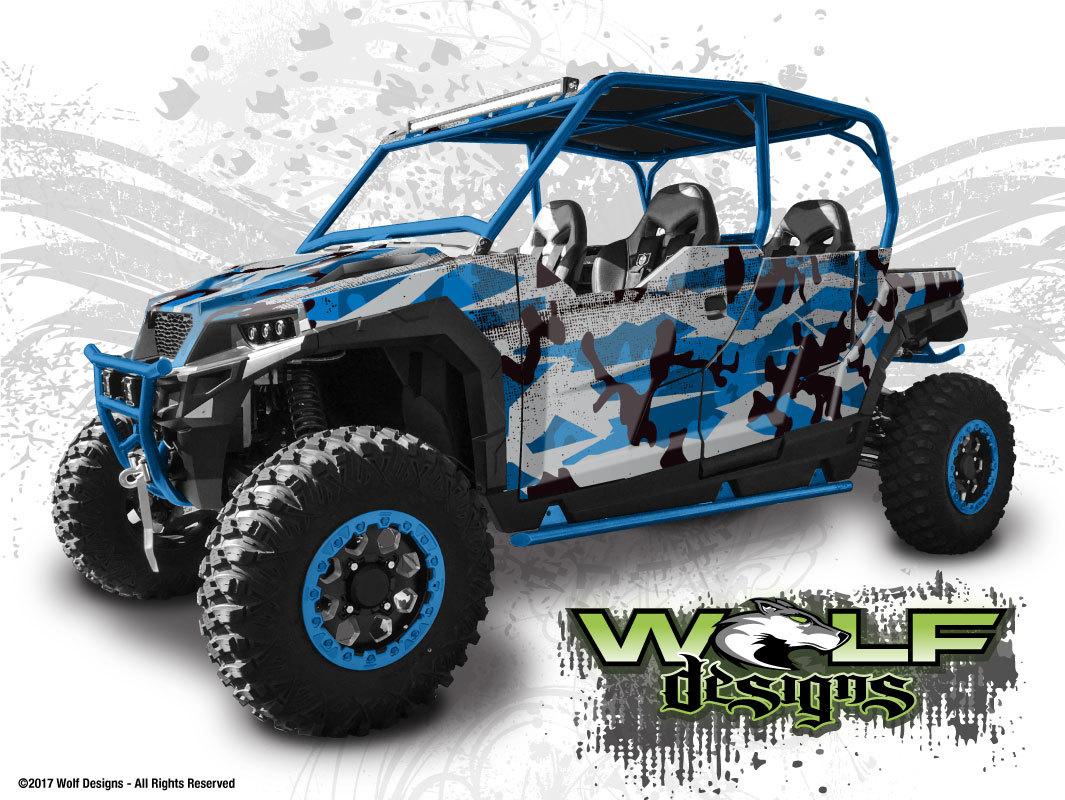 Wolf Designs Utv Wraps Wd Gnrl4b 001 Polaris General 4