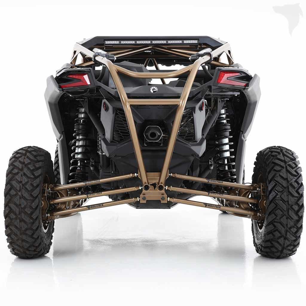 Custom Welding Helmets >> UTV Wolfpack Can-Am Maverick X3 Scorpion Roll Cage w/Integrated Bumper & Roof