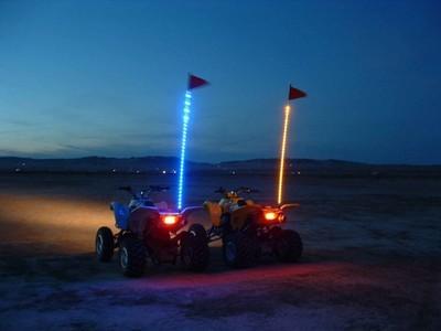 Tribal Whips Nightstalker Led Whip 6 Led Lighted Whip