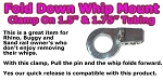 Safeglo Fold Down Whip Mount