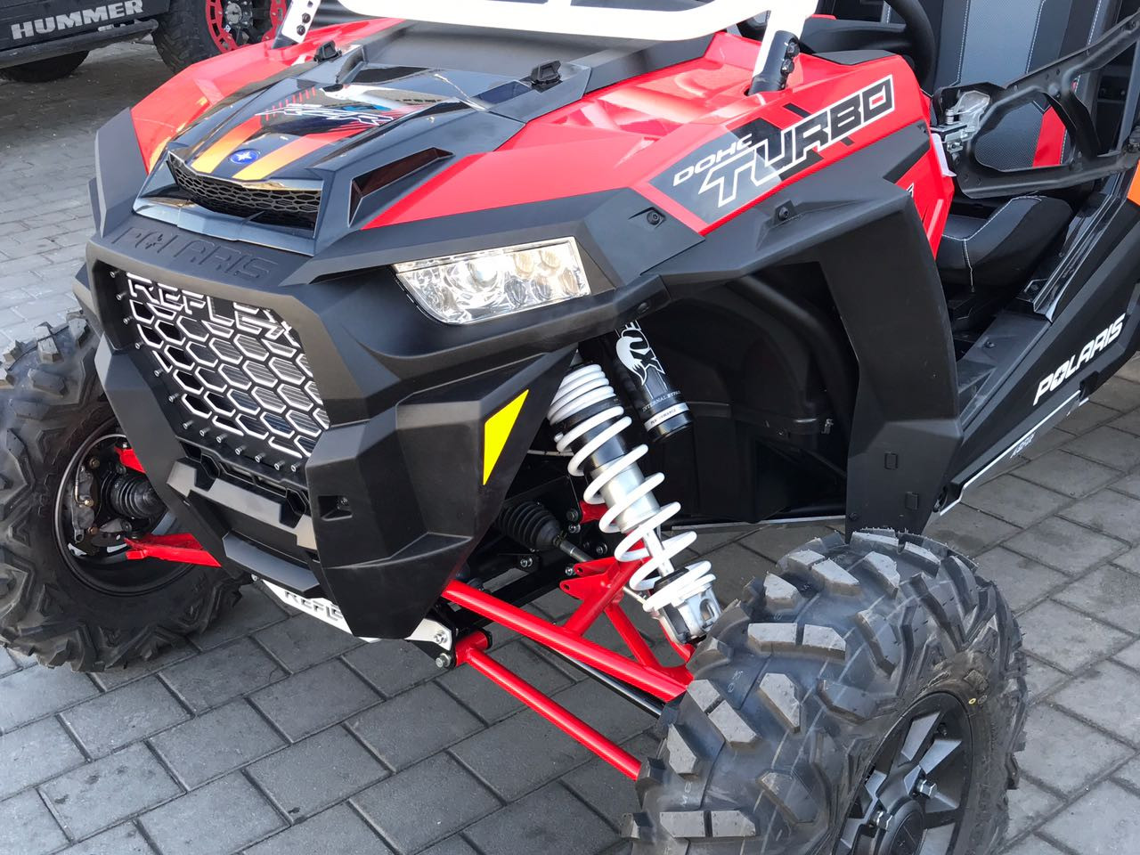 "Reflex Polaris RZR XP Turbo 2017 +8"" Suspension System"