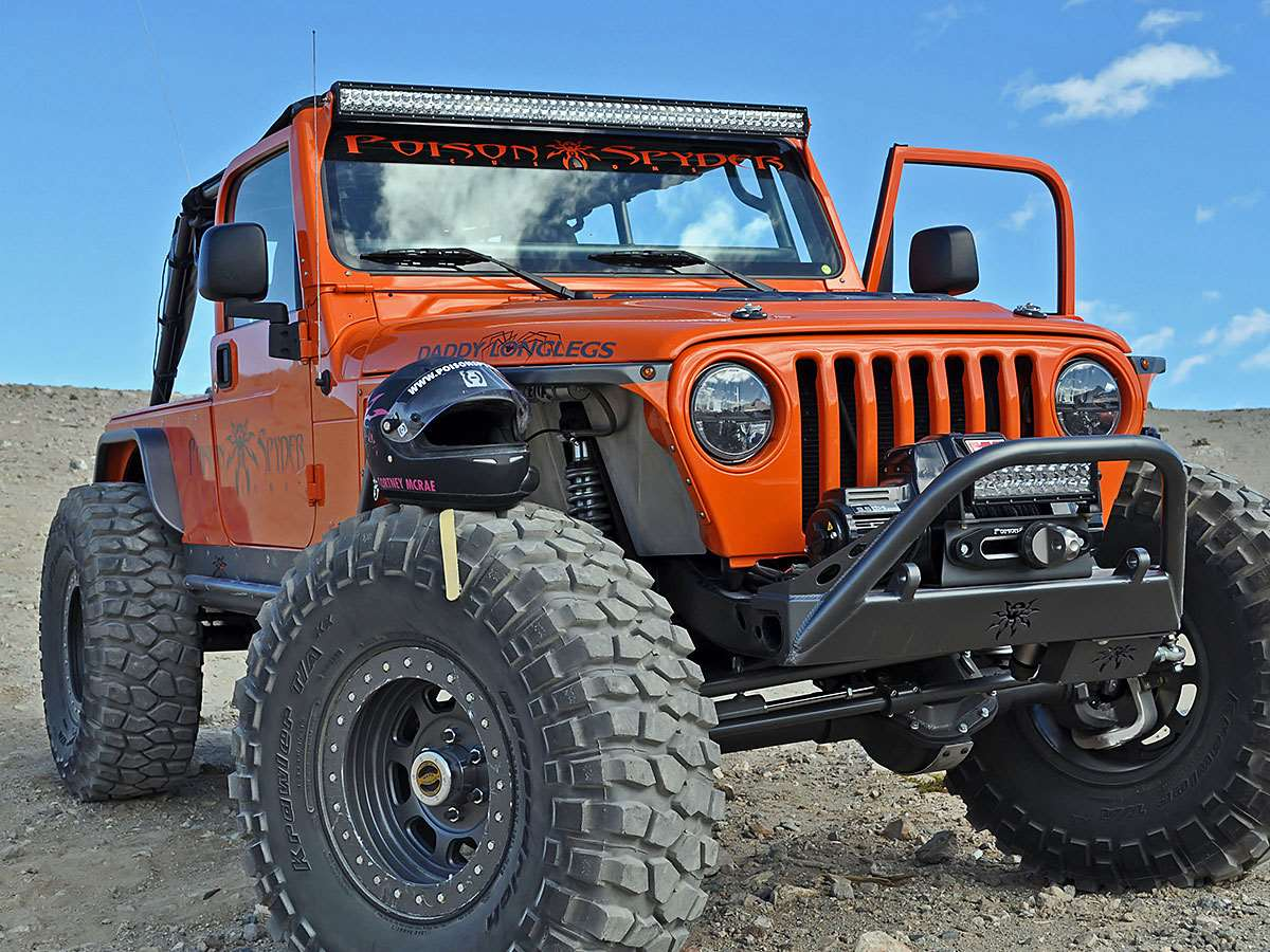 Rigid Industries Jeep Tj Upper Windshield Mount