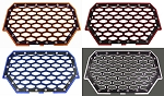ModQuad Polaris RZR XP1000 2-Panel Front Grill