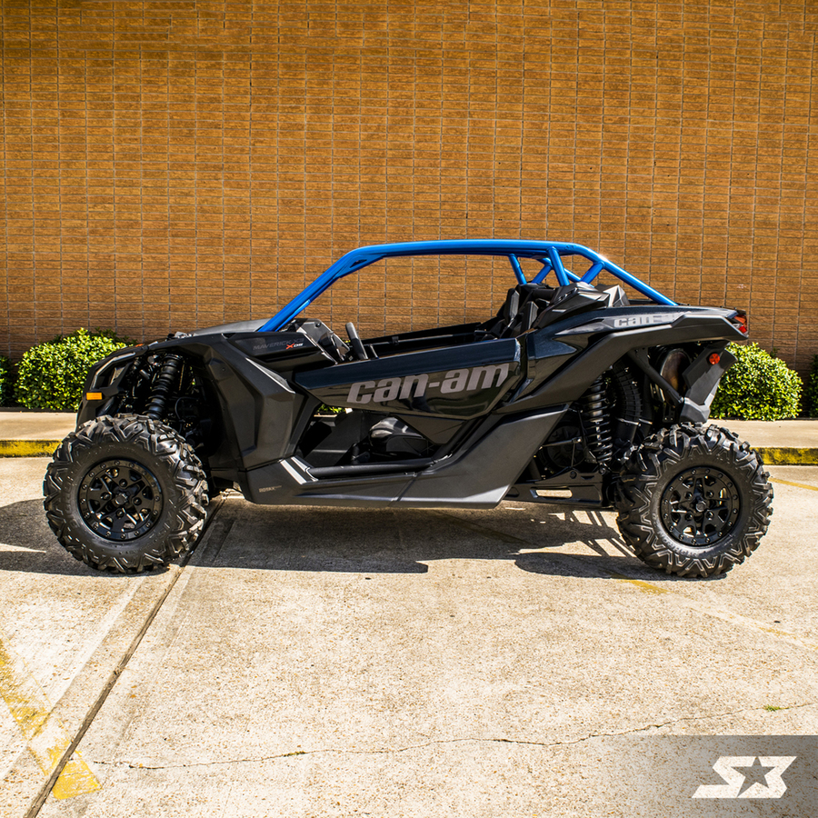 s3 powersports can am maverick x3 custom abc pillar roll cage. Black Bedroom Furniture Sets. Home Design Ideas