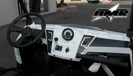 Amr Racing Graphics Polaris Rzr Carbor Fiber Dash Graphics
