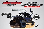 Alternative Offroad/VisionX Polaris RZR LED Lighting Package- Stage 2