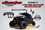 Alternative Offroad/VisionX Polaris RZR LED Lighting Package- Stage 3