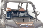 Tusk UTV RZR XP1000 and XP Turbo Hinged Windshield