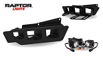 Raptor Lights 2017+ Ford Raptor Gen 2 Triple Fog Light and Bezel Bracket Kit