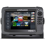Lowrance HDS-7 Gen3 Touch Screen Baja GPS w/External Antenna