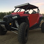 Madigan Motorsports RZR XP1000/XPTurbo 2 Seat Roll Cage with Integrated Bumper