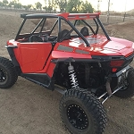 Madigan Motorsports RZR XP1000/XPTurbo 2 Seat Roll Cage