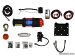 Super ATV 3500 lb. Synthetic Rope ATV Winch -With Wireless Remote