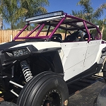 Madigan Motorsports RZR XP1000/XPTurbo 4 Seat Roll Cage with Integrated Bumper
