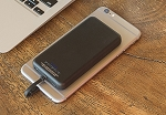 Scosche MagicMount PowerBank Magnetically Mounted Portable Power for Lightning™ Devices