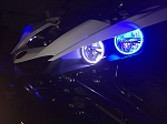 Tric LED TricRings Yamaha YXZ 1000R Headlight Halo Ring