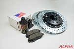 Alpha Powersport Performance Brake Upgrade