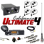PCI Race Radios California Ultimate 4 Seat Package