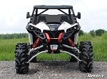 SuperAtv Can-Am Maverick Scratch Resistant Half Windshield