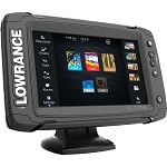 PCI Race Radios Lowrance Elite 7ti Touchscreen GPS