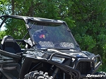 Super ATV Polaris RZR 900 / 1000 Scratch Resistant Vented Windshield
