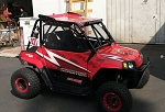 Long Travel Industries Polaris RZR 170 Roll Cage w/Roof