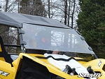 SuperAtv Yamaha YXZ Scratch Resistant Full Windshield