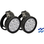 VisionX 07-13 Sierra 1500/2500/3500 Fog Light Kit w/ (2) UMX 4