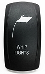 Carling Technologies Contura LED Backlit Rocker Switch- Whip Lights