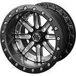 "HiPer Racing Wheels Dakar 14"" Carbon Fiber Dual Beadlock Wheel"