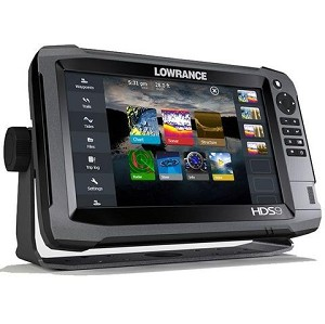 "Lowrance HDS-9 Gen3 9"" Touch Screen GPS"
