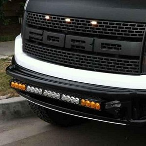 "Baja Designs 30"" Amber/White Dual Control LED Lightbar"