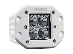 Rigid Industries Marine Series Dually D-Series PRO Flush Mount LED Light - Flood