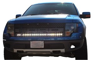 "Baja Designs Ford F150 Raptor OnX6 40"" Behind the Grill LED Kit"