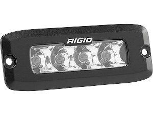 rigid industries sr q series pro flush mount led light spot single